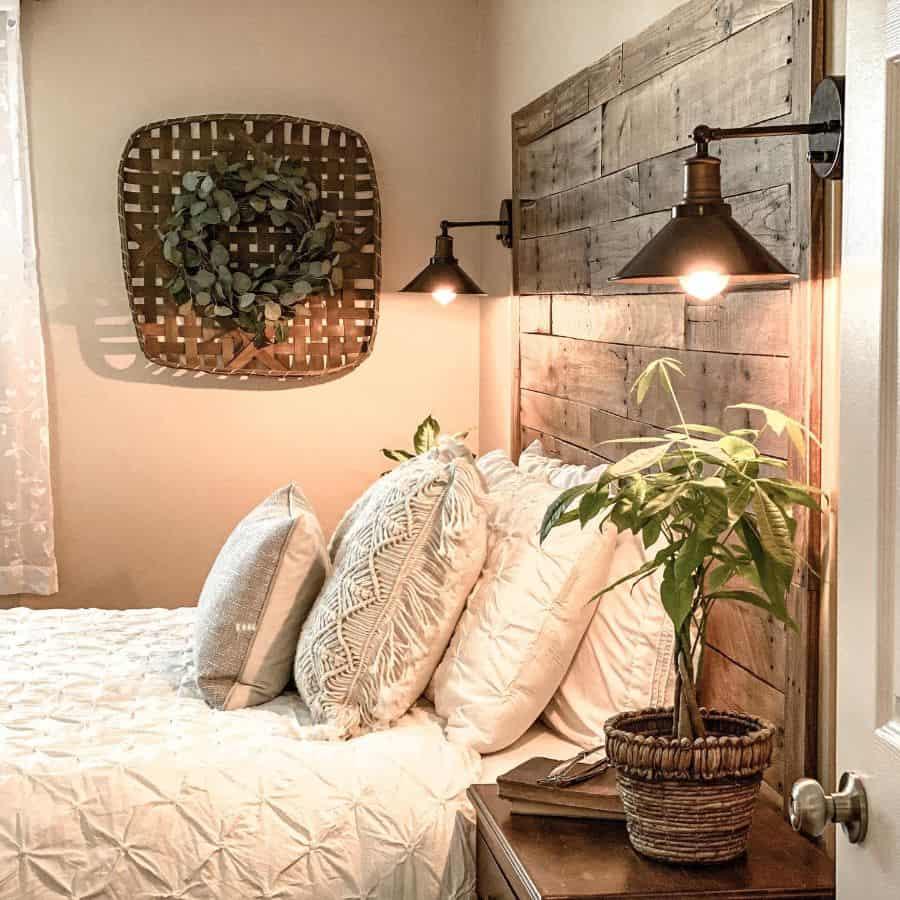 rustic farmhouse bedroom ideas theblendednest