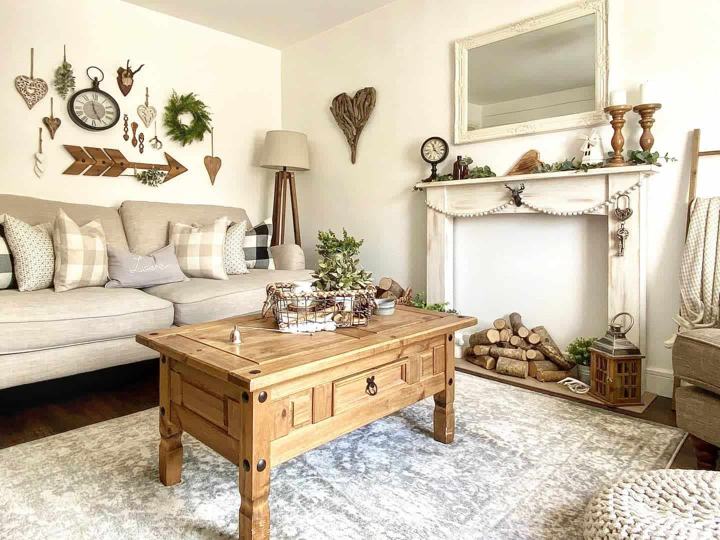Rustic Farmhouse Farmhouse Living Room Ideas Countryrusticliving