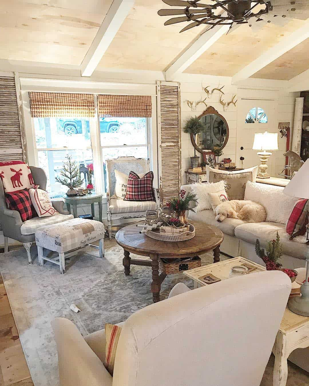 Rustic Farmhouse Farmhouse Living Room Ideas Vintagewhisperer