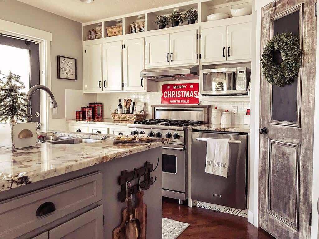 rustic farmhouse kitchen ideas bloomingdiyer