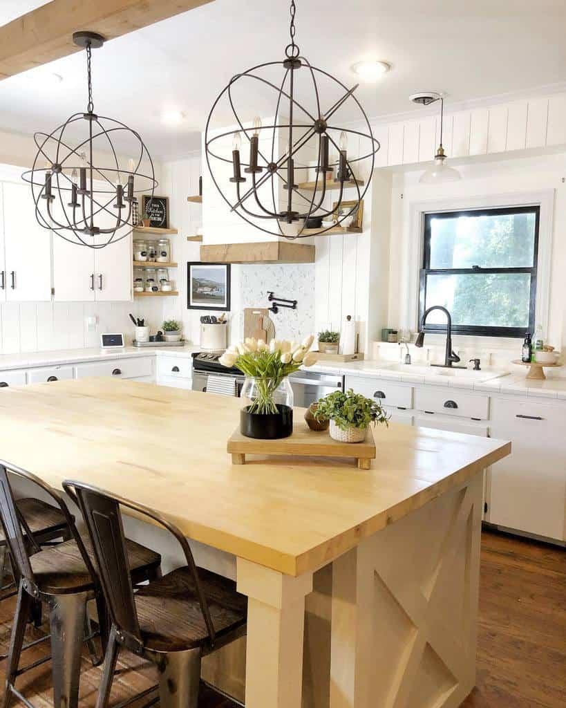 rustic farmhouse kitchen ideas joyfulsouthernhome