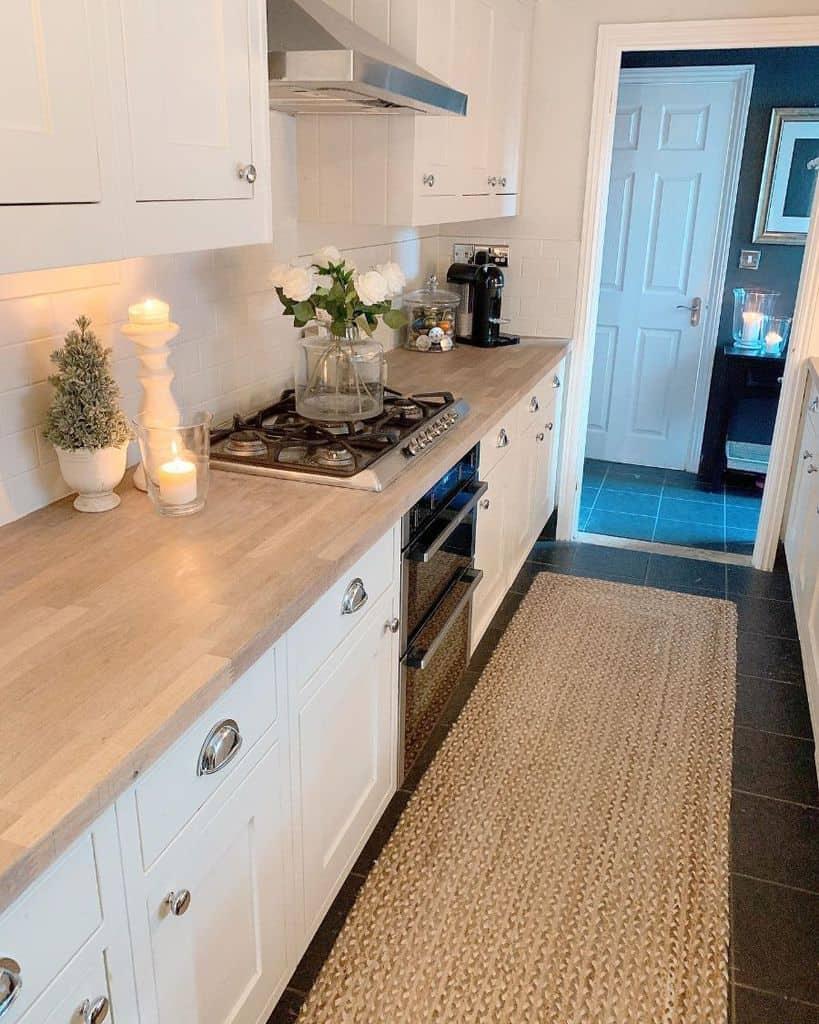 rustic galley kitchen ideas _elizabeth_dalton