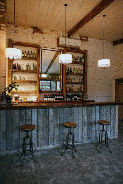Rustic Garage Bar Ideas