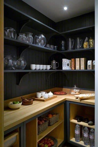 Rustic Grey Kitchen Pantry Ideas