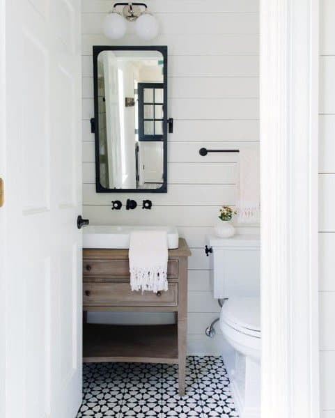 Top 60 Best Half Bath Ideas - Unique Bathroom Designs Rustic Half Bathroom Designs Style on bathroom bathroom designs, rustic small bathroom design, master bathroom designs, rustic farmhouse bathrooms, nature bathroom designs, rustic kitchen designs, rustic corrugated metal bathroom, garage bathroom designs, rustic country bathroom vanity cabinets, rustic cabin bathroom shower, rustic stone bathrooms, rustic style bathroom mirrors, rustic style bathroom sinks, rustic industrial bathroom design, rustic looking bathrooms, natural stone bathroom designs, fixer upper bathroom designs, rustic shower designs, rustic bathroom walls, new home bathroom designs,