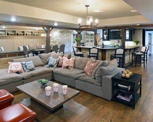 Top 48 Best Rustic Basement Ideas Vintage Interior Designs Classy Basement Interior Design