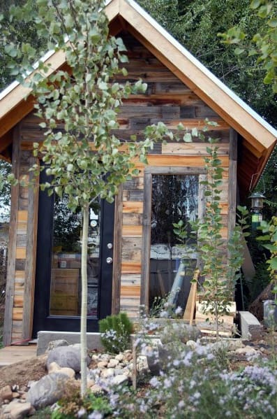 Rustic Ideas For Backyard Shed