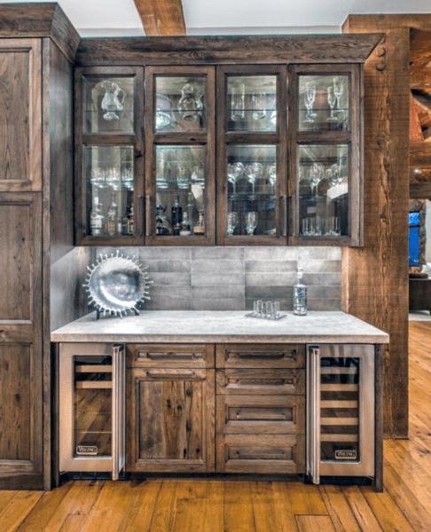 Rustic Finished Basement Ideas: Vintage Home Interior Designs