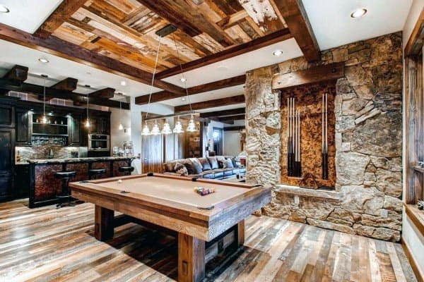 Rustic Ideas For Home Basement