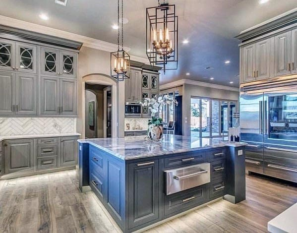 Rustic Ideas For Kitchen Grey
