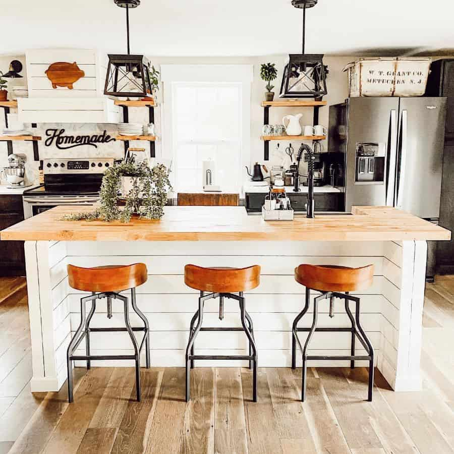 rustic kitchen bar ideas cottageontupeloridge
