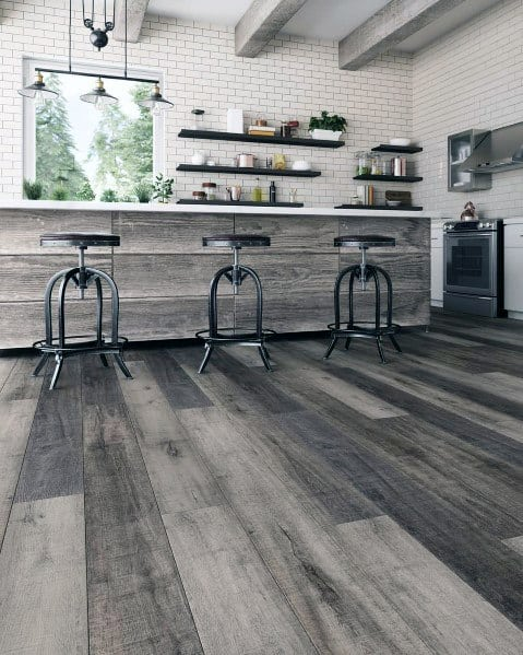 Top 60 Best Kitchen Flooring Ideas Cooking Space Floors