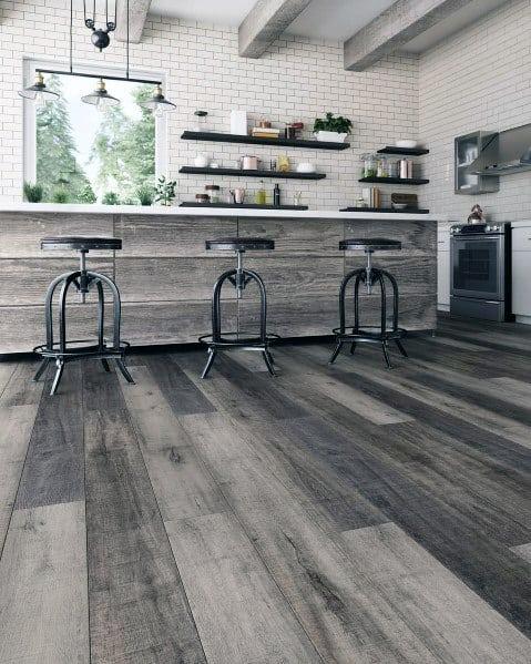 Rustic Kitchen Flooring Ideas