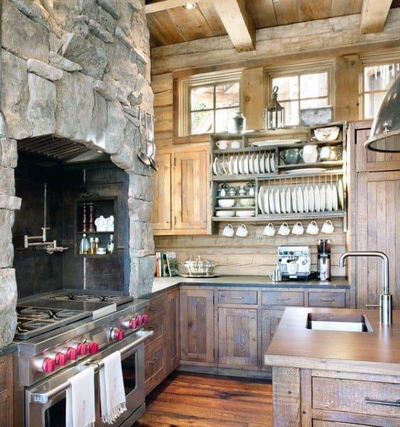 Rustic Kitchen Idea Inspiration