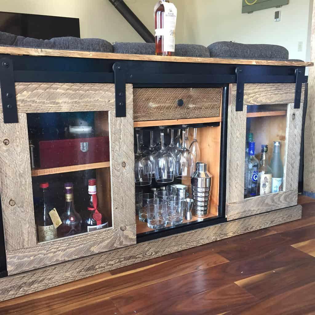 rustic liquor cabinet ideas pdatsko14