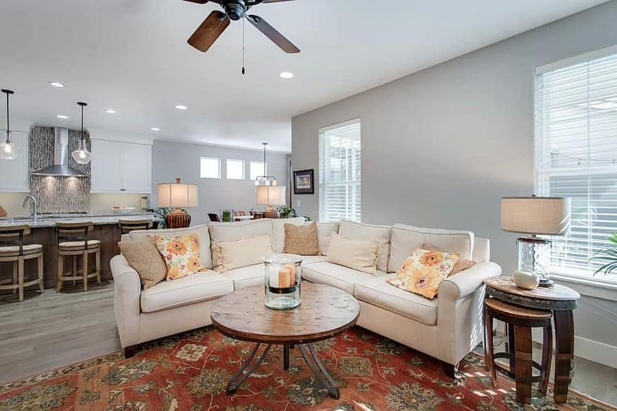 Rustic Living Room Decorating Ideas 1