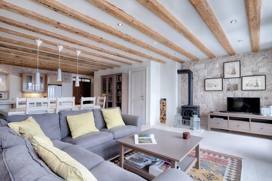 Rustic Living Room Decorating Ideas 10