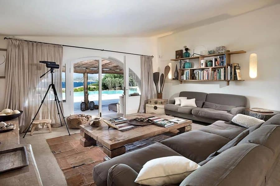 Rustic Living Room Decorating Ideas 2