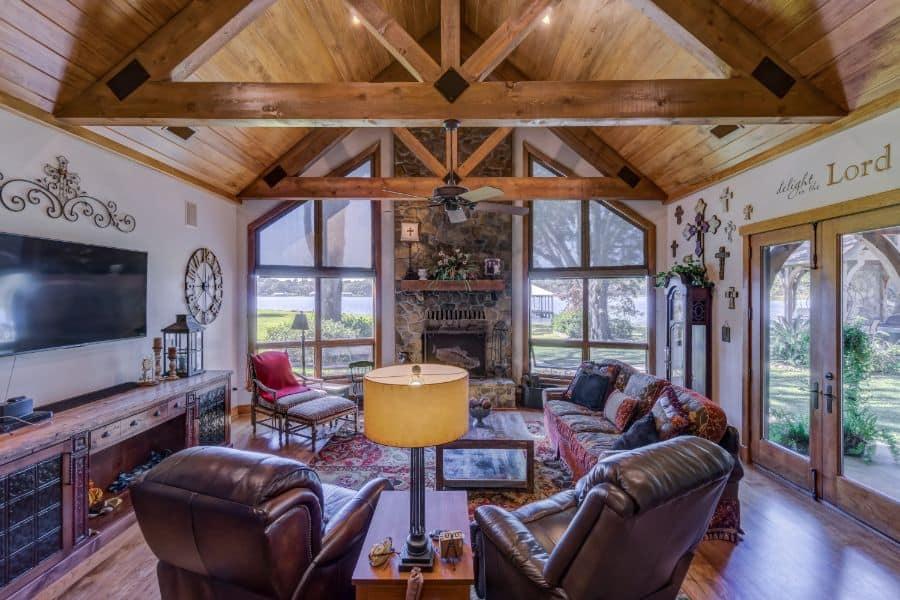 Rustic Living Room Decorating Ideas 6