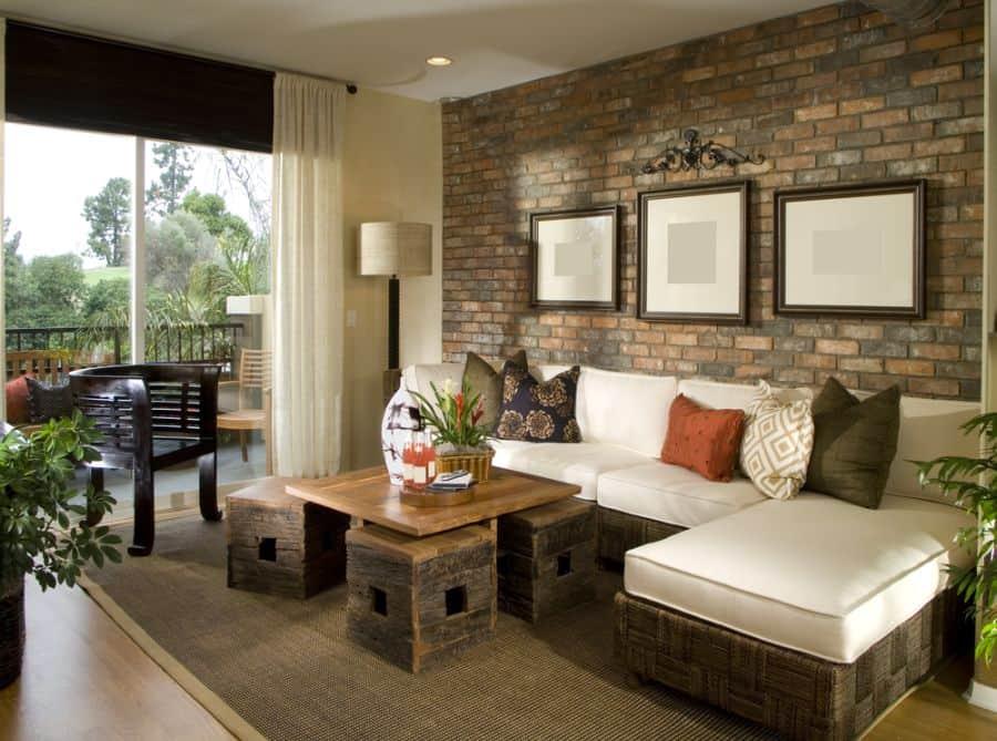 Rustic Living Room Decorating Ideas 7