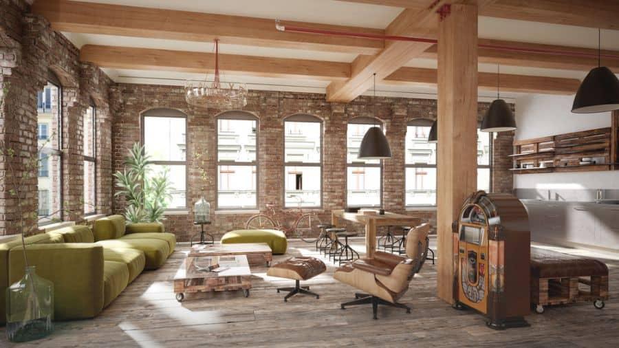 Rustic Living Room Decorating Ideas 8
