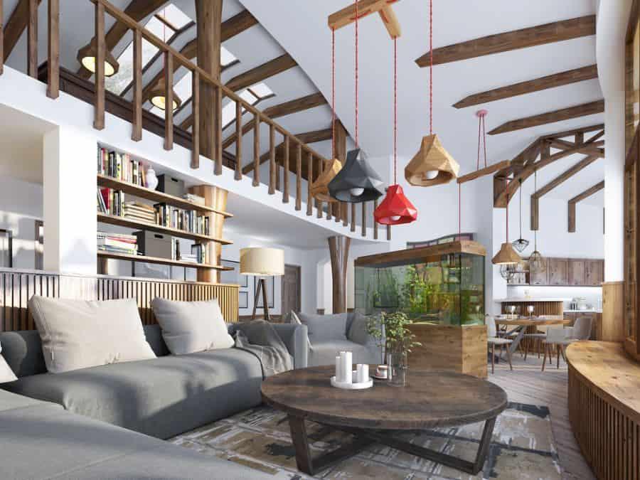 Rustic Living Room Decorating Ideas 9
