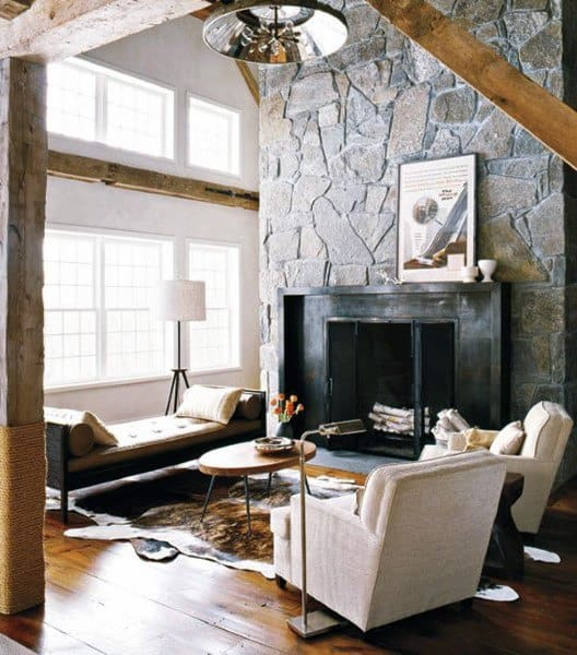 Rustic Living Room Furniture Ideas