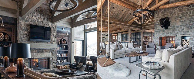Top 60 Best Rustic Living Room Ideas Vintage Interior Designs