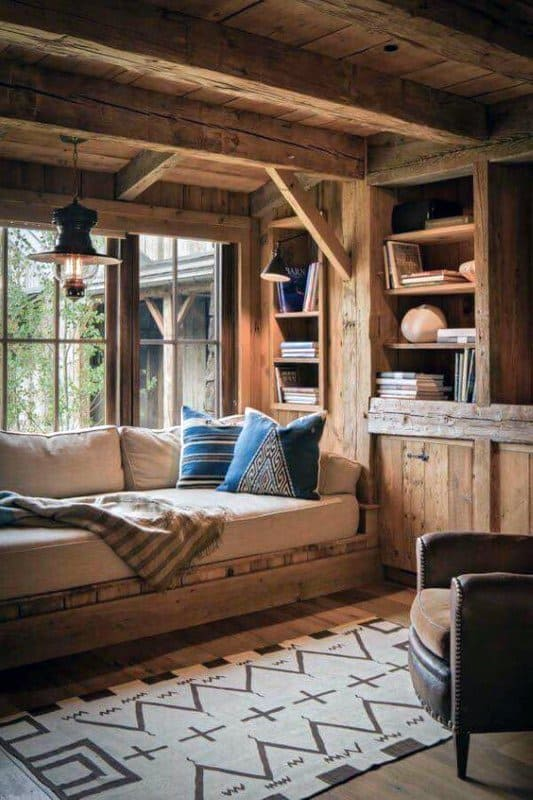 top 60 best log cabin interior design ideas mountain retreat homes