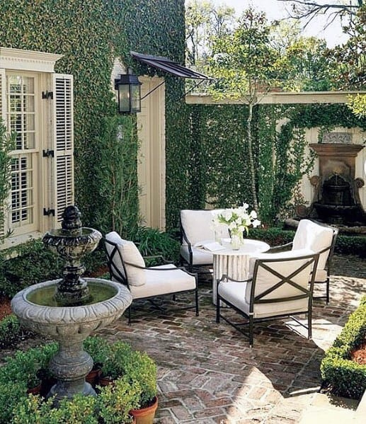 Rustic Look Design Ideas For Brick Patio