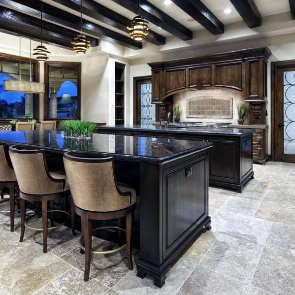 Rustic Look Ideas Kitchen Tile Floor