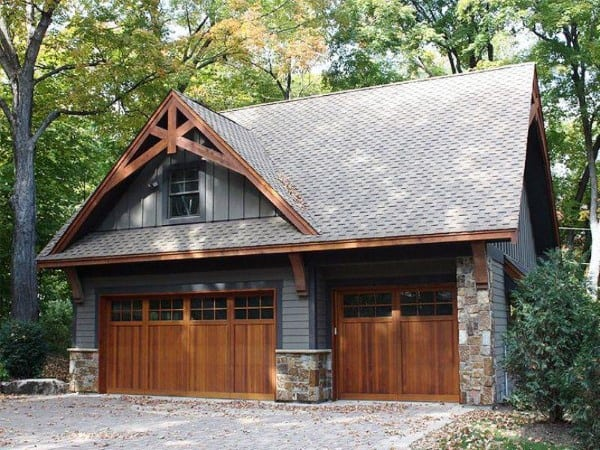Rustic Looking Detached Garage Ideas