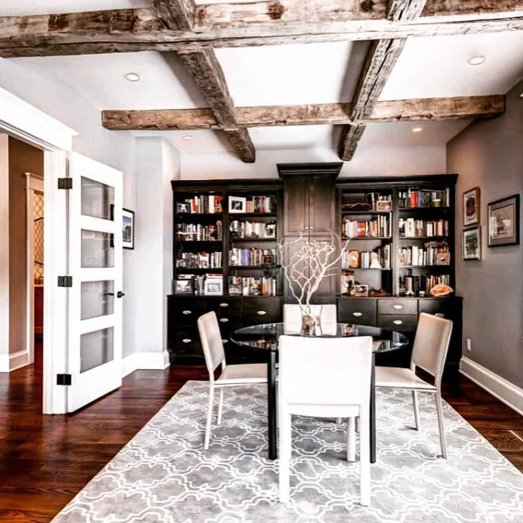 rustic low basement ceiling ideas rocawoodworks