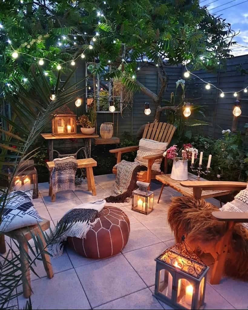 rustic patio lighting ideas sixat21