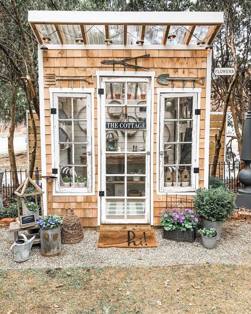 Rustic Shed She Shed Ideas Cottageandbloom