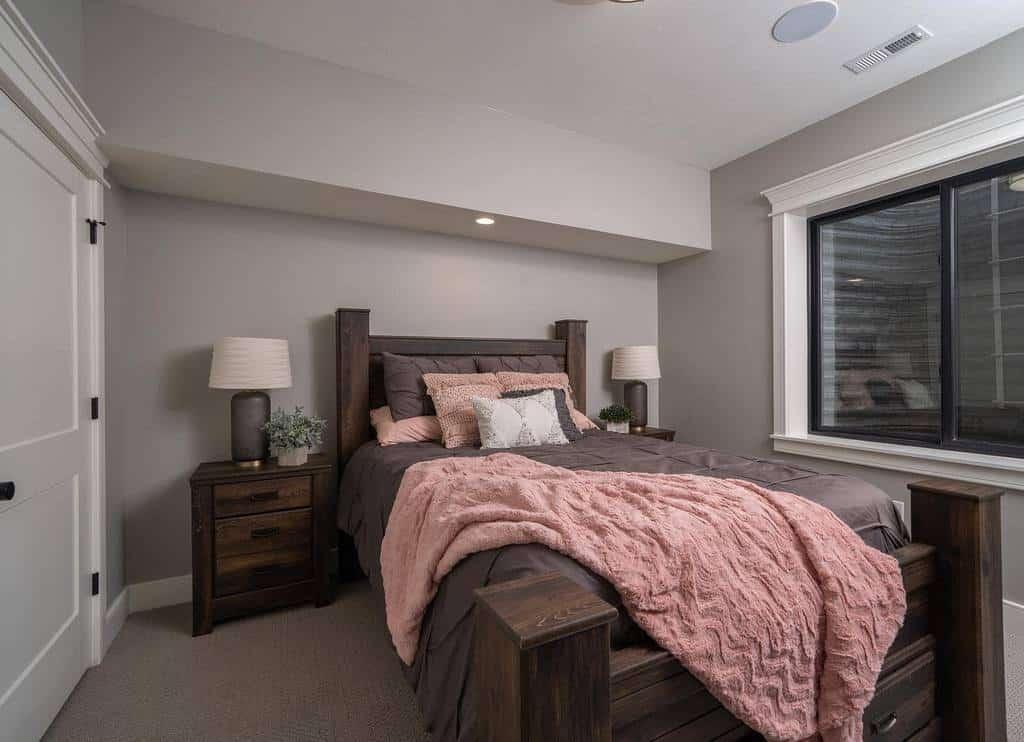 rustic small basement ideas fostersmodernfarmhouse