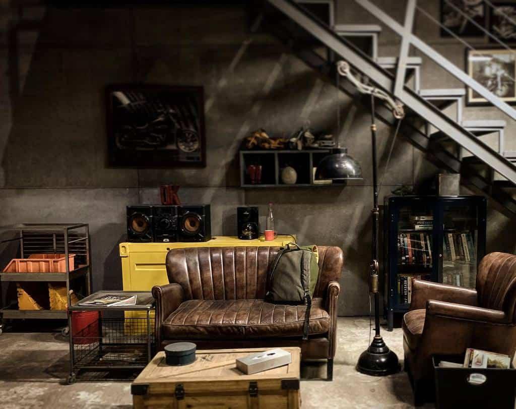 rustic small basement ideas nikitajain2503