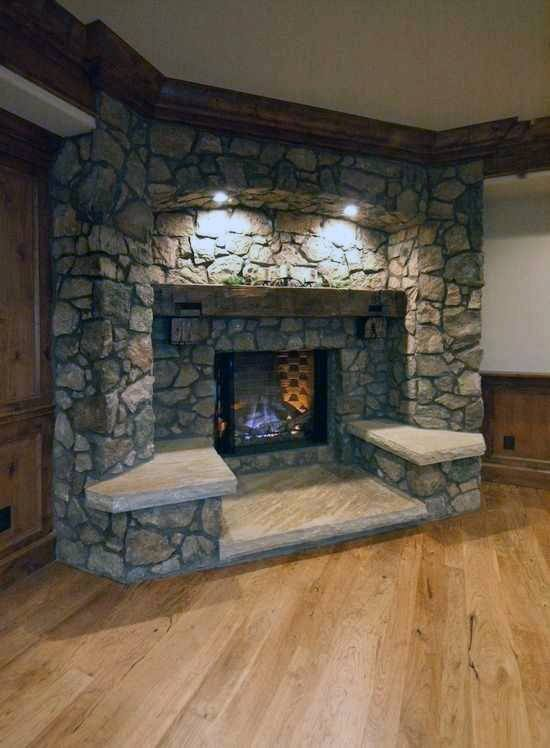 Small Living Room Ideas On A Budget: Top 70 Best Corner Fireplace Designs