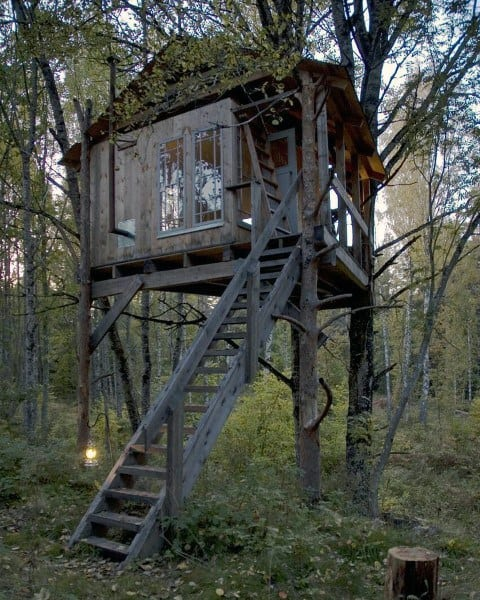 Rustic Treehouse Ideas