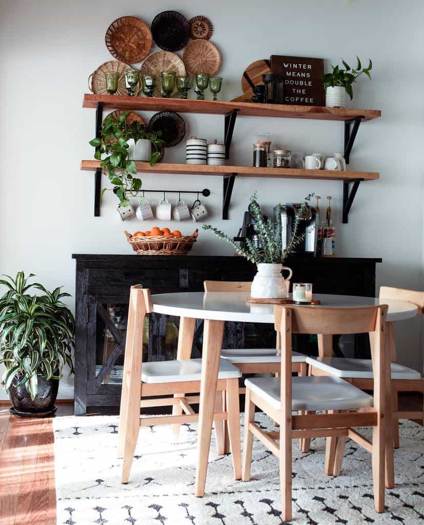rustic wall shelf ideas fromgrittopearl