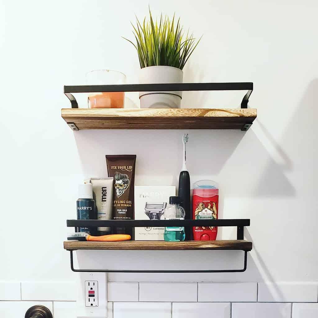 rustic wall shelf ideas thegeelifestyle