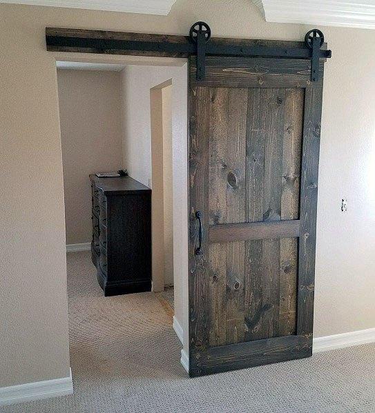 Rustic Wood Barn Door Ideas