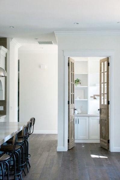 Rustic Wood Designs Kitchen Pantry Door