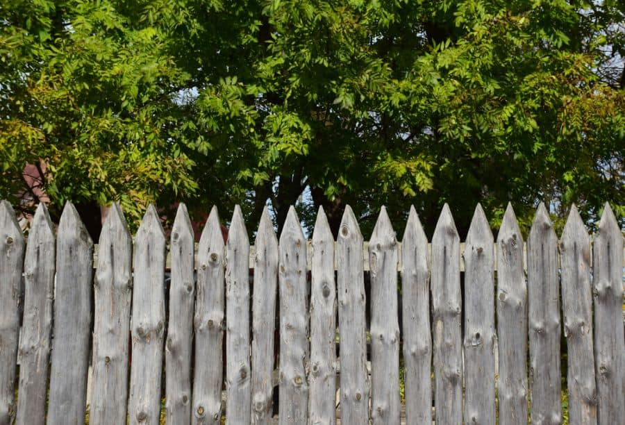 Rustic Wood Fence Ideas (1)