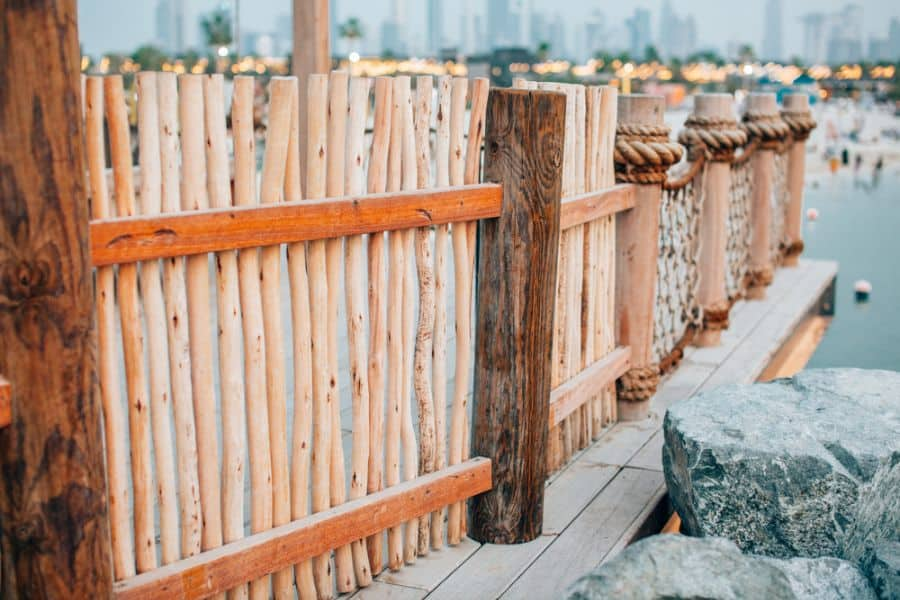 Rustic Wood Fence Ideas (6)