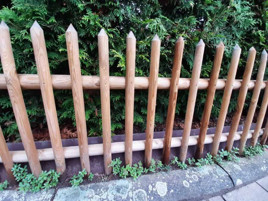 Rustic Wood Fence Ideas (8)