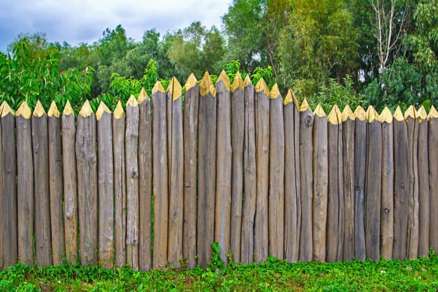 Rustic Wood Fence Ideas (9)