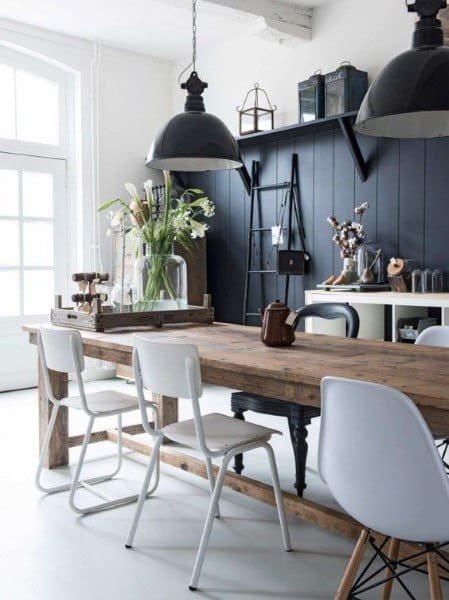 Rusttic Themed Dining Room Ideas