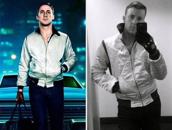 ryan gosling drive best mens easy halloween costumes