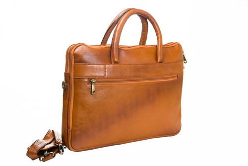 S Zone England Fashion Leather Laptop Bags For Men